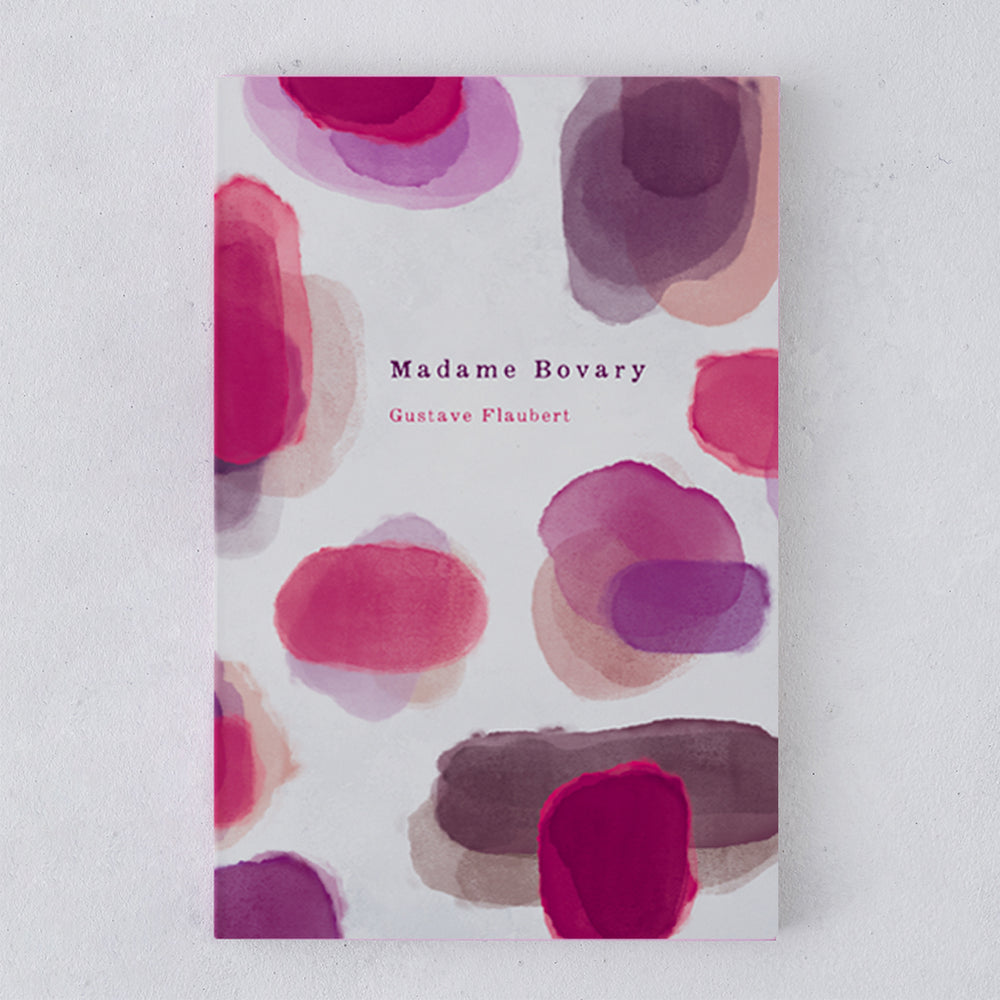 Madame Bovary front cover - Madame Bovary by Gustave Flaubert - beautiful editions of classic books