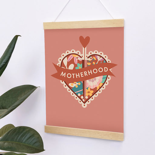 motherhood print new mum gift for her to brighten up your home decor.