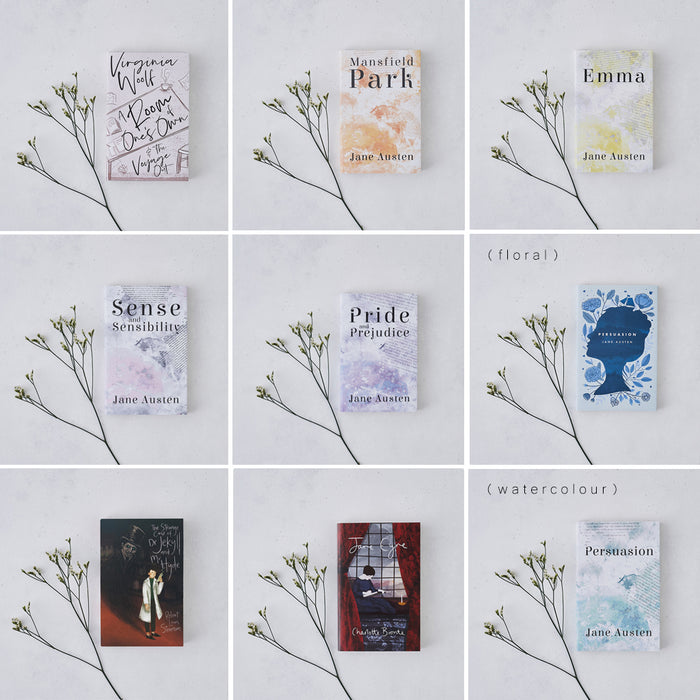 Pack Of Three Literary Classic Books With Exclusive Bookishly Covers