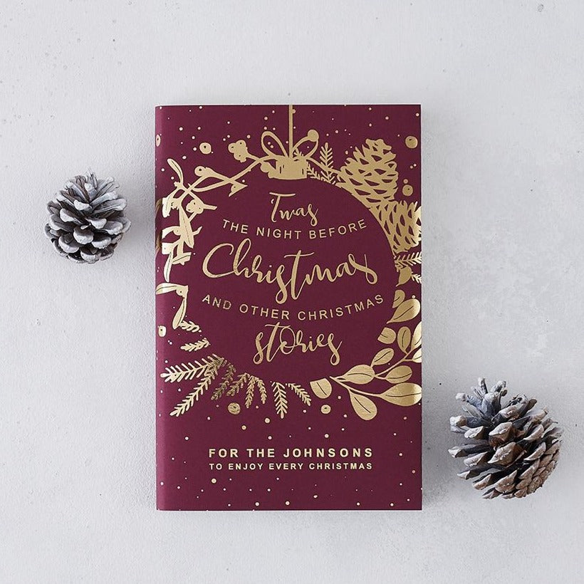 Personalised 'Twas The Night Before Christmas' Christmas Eve Book