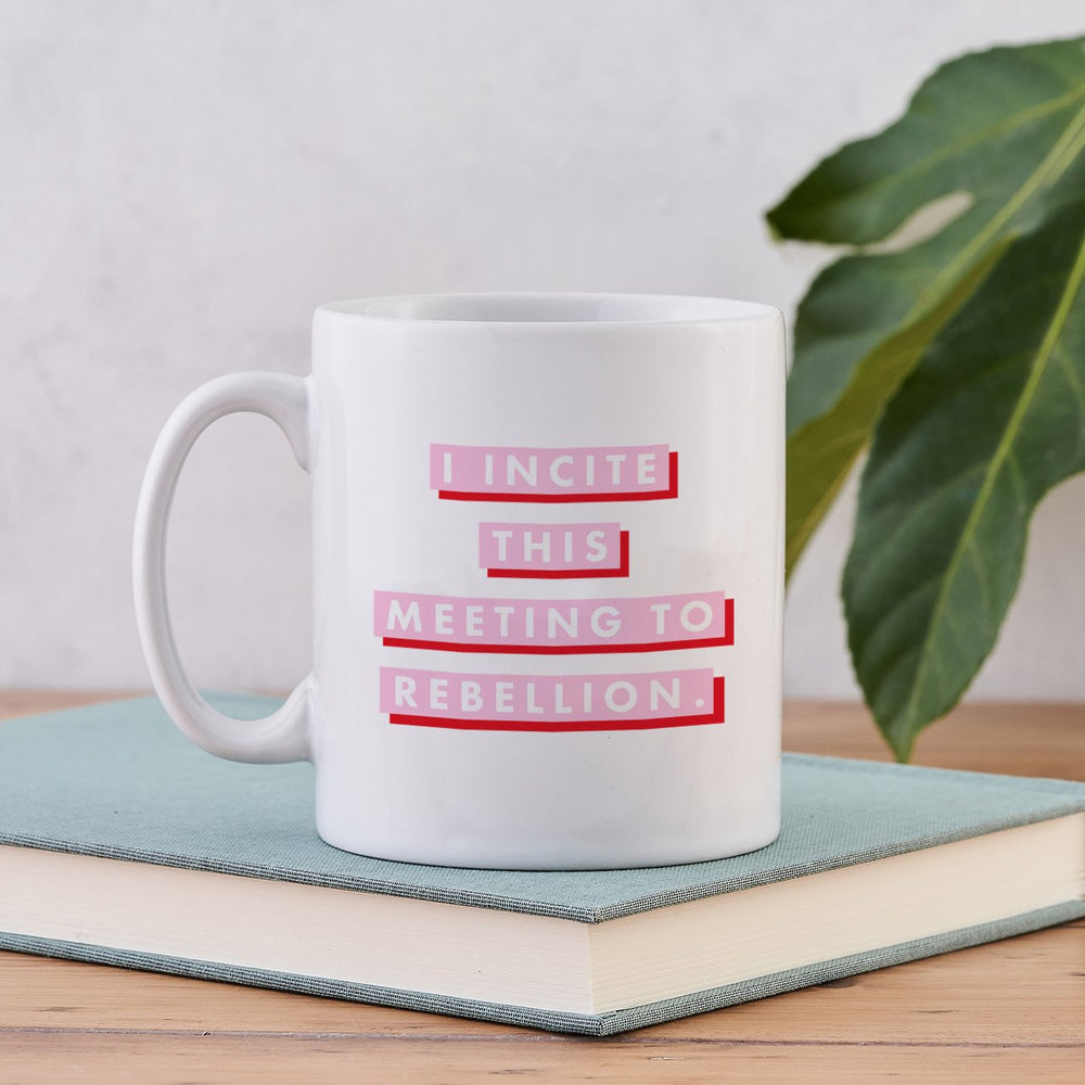 pink-and-red-suffragette i incite this meeting to rebellion votes for women quote feminist mug gift bookishly
