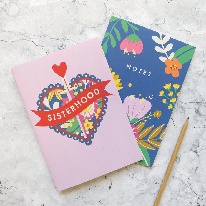 Sisterhood Notebook Gift Set - Two Pack