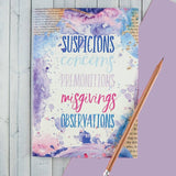 Suspicions And Observations - Writing Notebook