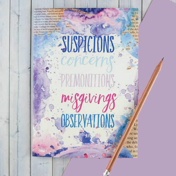 Suspicions And Observations - Notebook