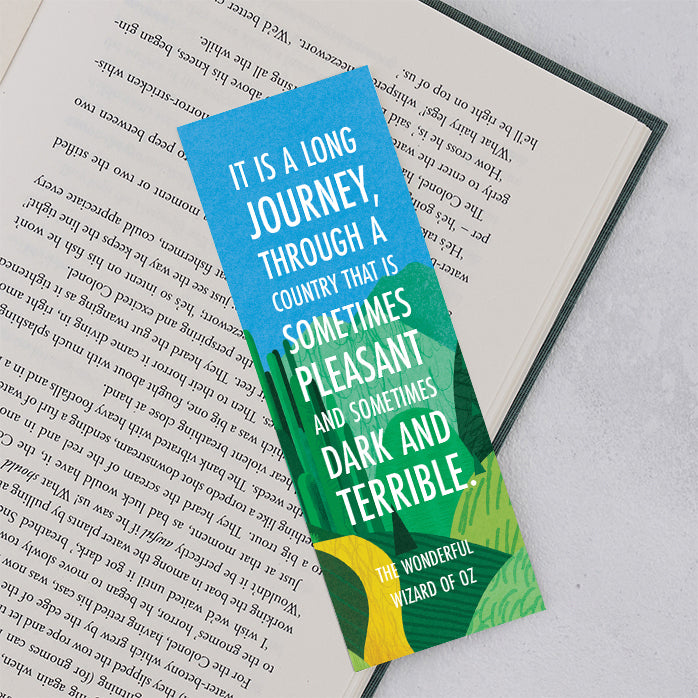 The Wonderful Wizard of Oz 'Journey' Bookmark