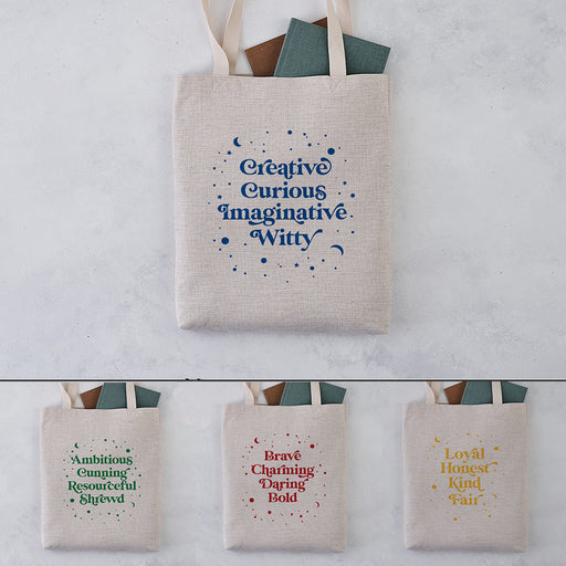 Magical Traits Book Lover Tote Bag