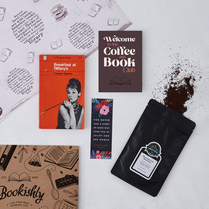 Coffee and Vintage Book Club Subscription
