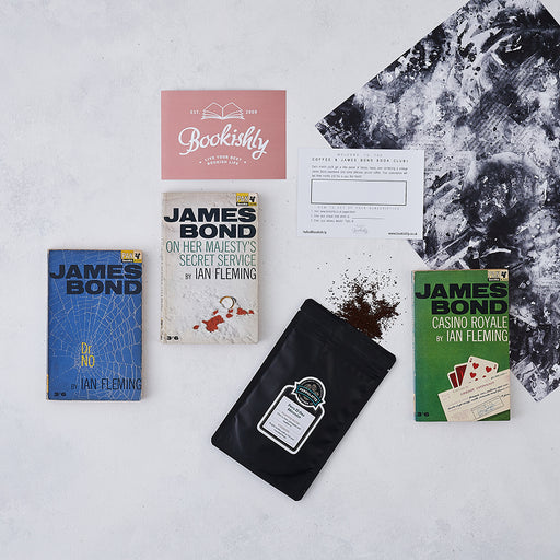 James Bond Vintage Book & Coffee Three Month Subscription