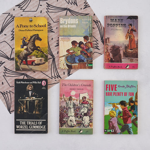 vintage childrens book bundle