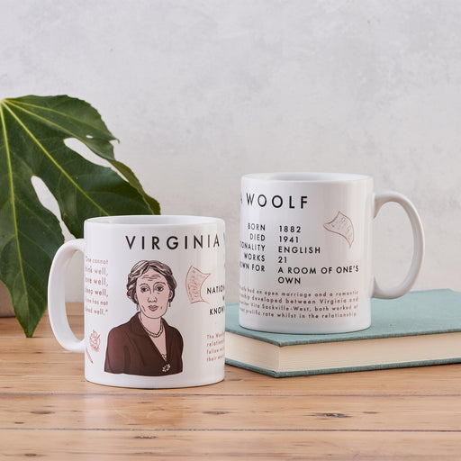 Virginia Woolf Book Lover Author Mug