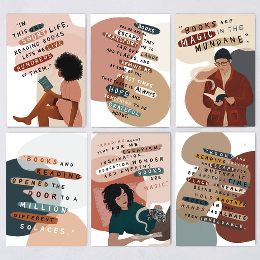 'What Reading Means' Postcard Set - 12 Pack