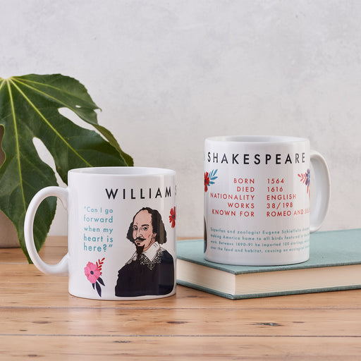 William Shakespeare Book Lover Author Mug