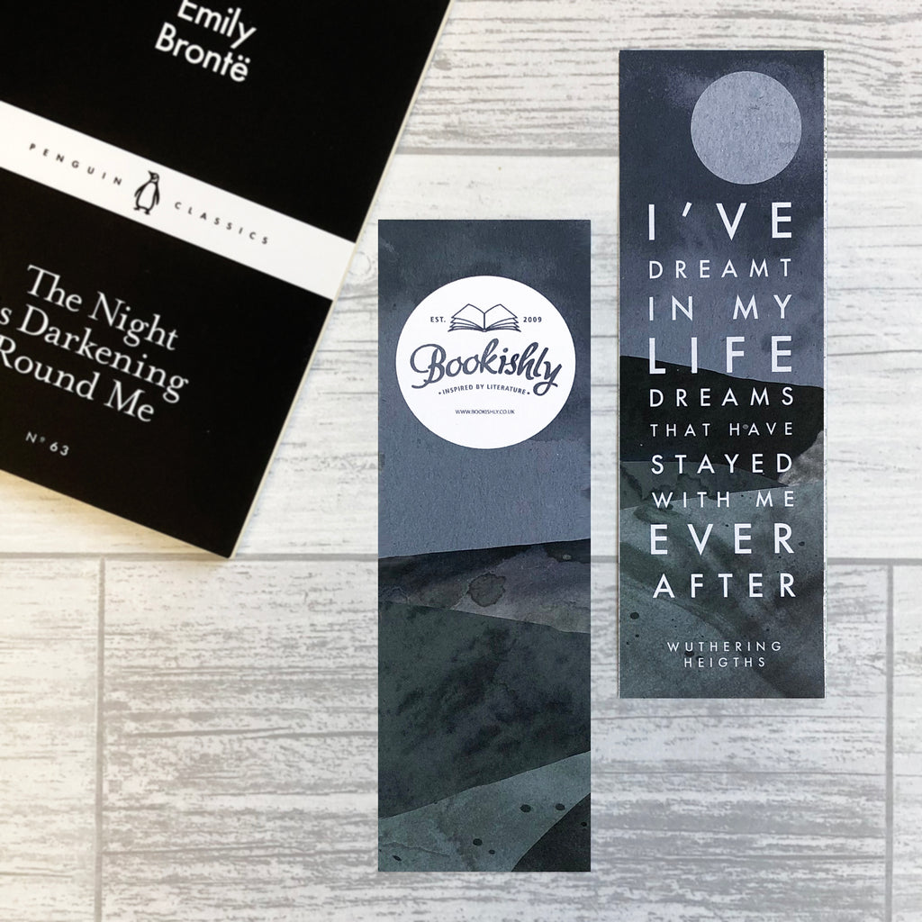 "Wuthering Heights ""Dreamt In My Life"" Bookmark"