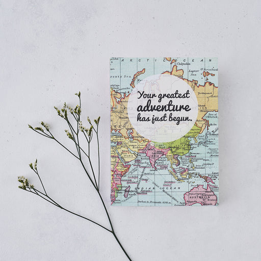 "Wedding Planner ""Your Greatest Adventure"" Travel Journal"