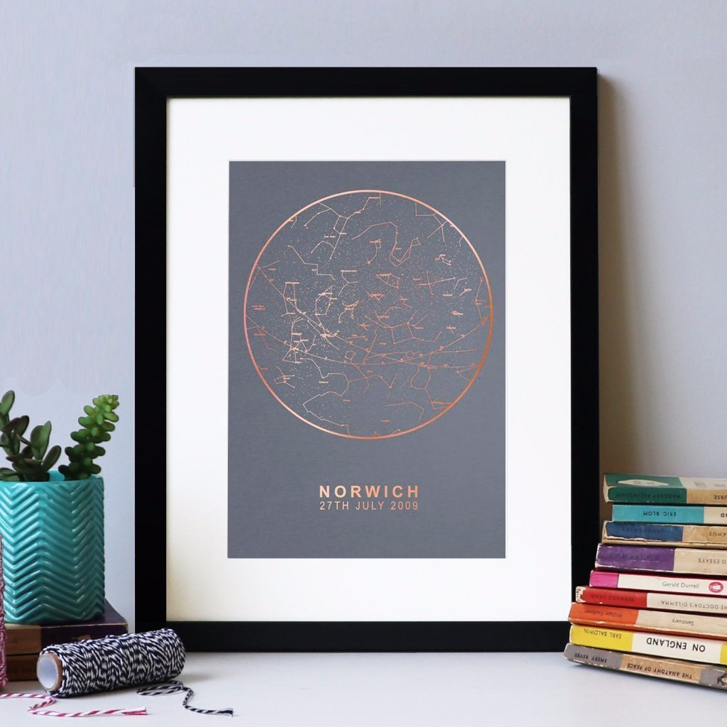 Personalised Star Chart Prints