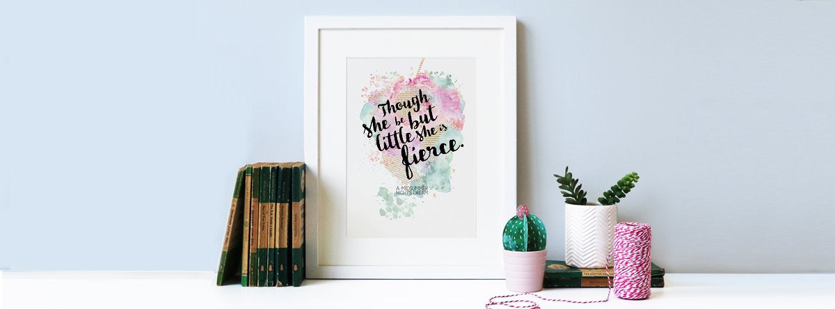 LITERARY QUOTE PRINTS