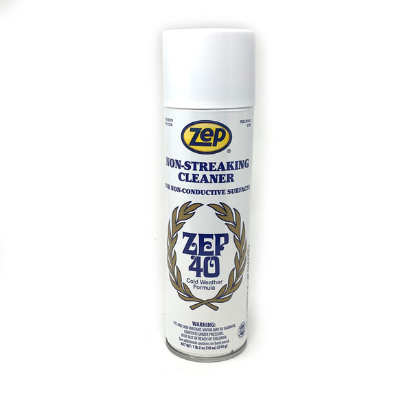 ZEP - 40 Non Streaking Multi Surface Cleaner, 18 oz Aerosol Can | 014401-200Z