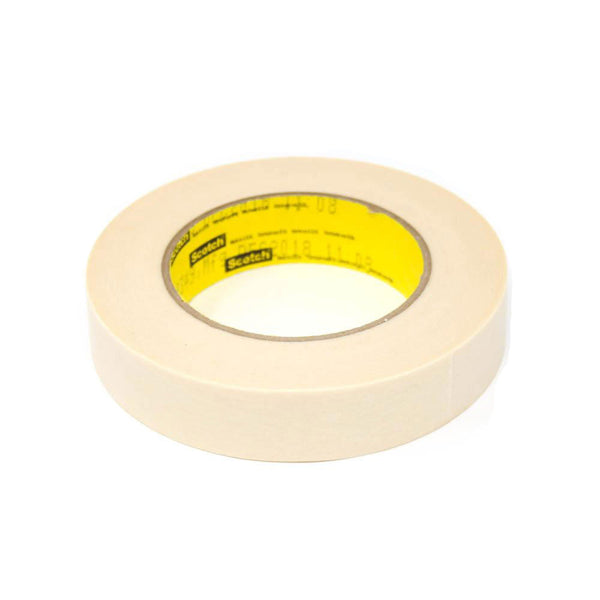 3M - Tan Scotch 250 Flatback Masking Tape - 1'' x 60yd | 021200-02876