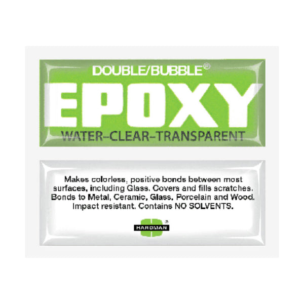 Double Bubble- Green Water Clear Epoxy | 04004