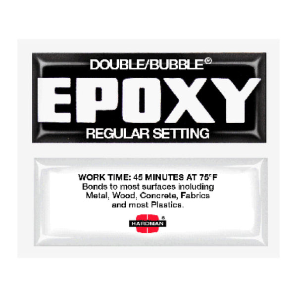 Double Bubble- Black Regular Setting Epoxy | 04006