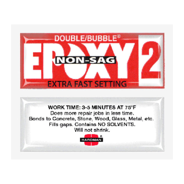 Double Bubble- Red#2 Extra Fast Set (non-sag) | 04008