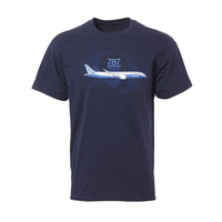 Boeing - 787 Dreamliner Graphic Profile T-shirt