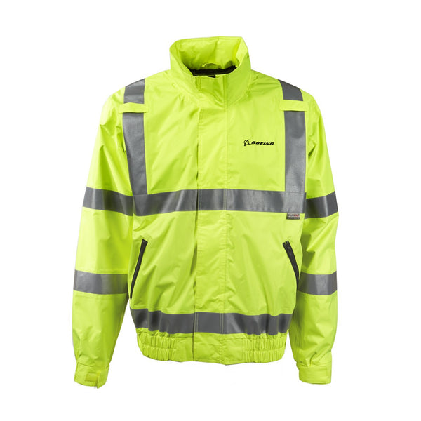 Boeing - Safety Yellow Windbreaker Jacket