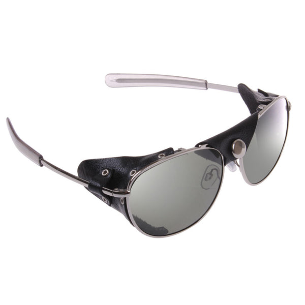 Tactical Aviator Sunglasses With Wind Guards