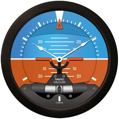Trintec - 14'' Modern Artificial Horizon Clock | 2063-14