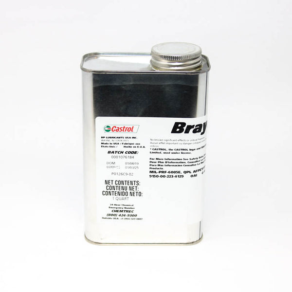 Castrol - Brayco 885 Clear MIL-PRF-6085E Spec Low Volatility Aircraft Instrument Lubricating Oil | 27021AECD