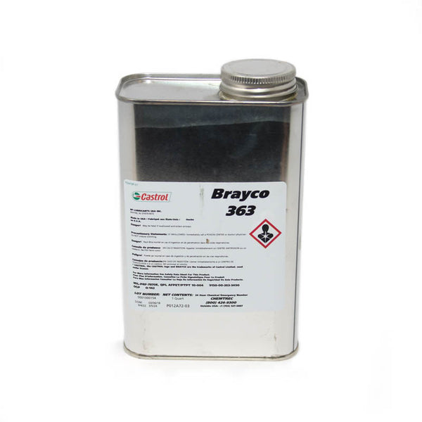 Castrol - Low Temperature General Purpose Lubricating Oil, Quart Can | Brayco 363