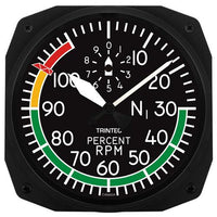 Trintec - 10'' Percent RPM Instrument Style Clock | 3067-10