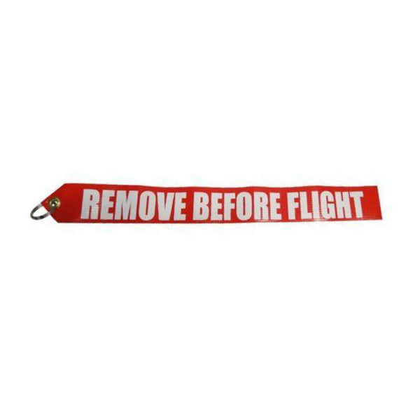 Vinyl Remove Before Flight Streamer