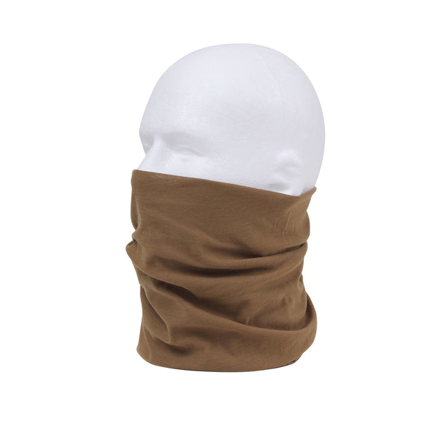Multi-Use Moister Wicking Tactical Wrap Neck Gaiter and Face Covering / Mask
