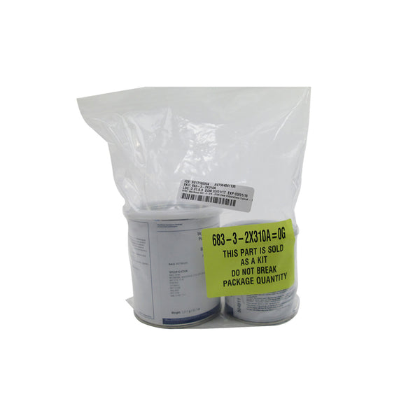 AkzoNobel - Clear Polyurethane Topcoat, Quart Kit | 683-3-2/X-310A