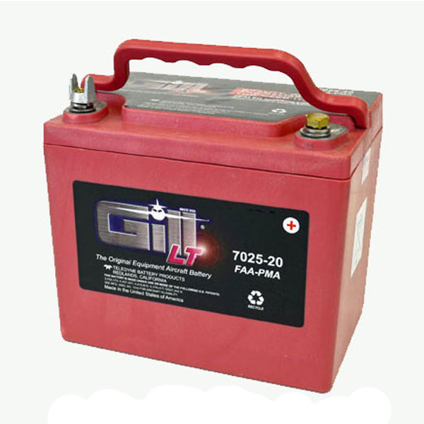 Gill - Sealed Lead Acid Aircraft Battery 12V | 7025-20