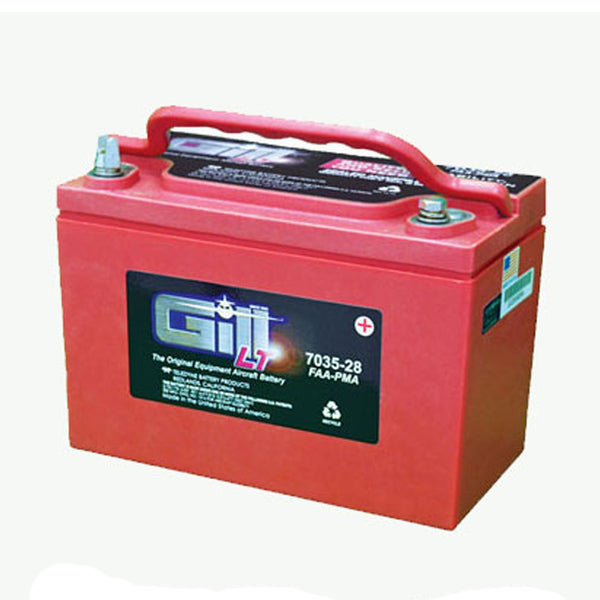 Gill - Sealed Lead Acid Aircraft Battery 12V | 7035-28