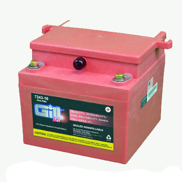 Gill - Sealed Lead Acid Aircraft Battery 24V | 7243-16