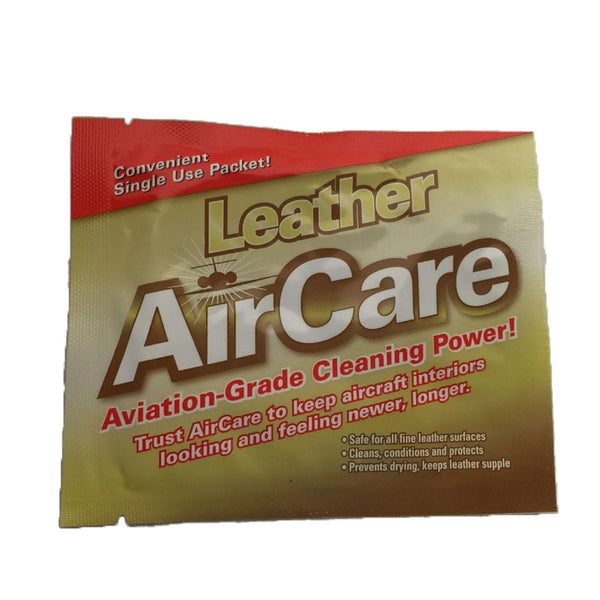AirCare - Leather Cleaner Wipes, 24 Pack