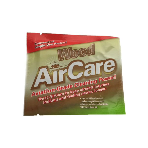 AirCare - Wood Cleaner Wipes, 24 Pack