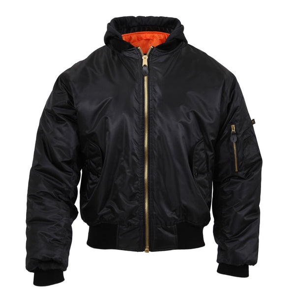 Hooded MA-1 Flight Jacket