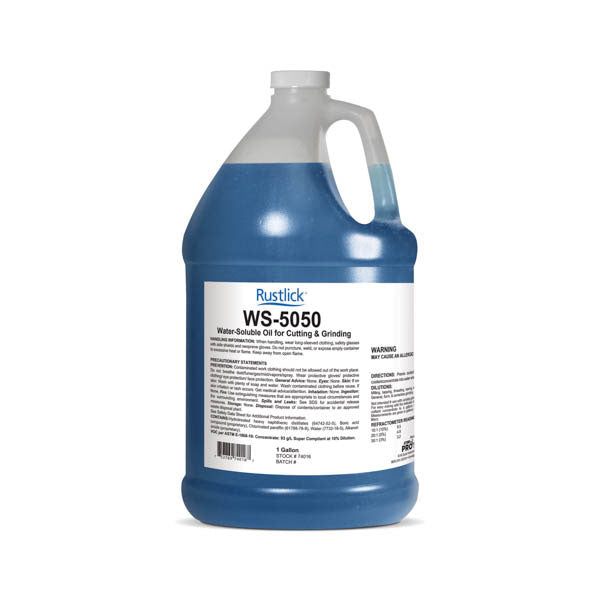 Rustlick™ WS-5050 Cutting and Grinding Fluid - 1 Gallon | 74016