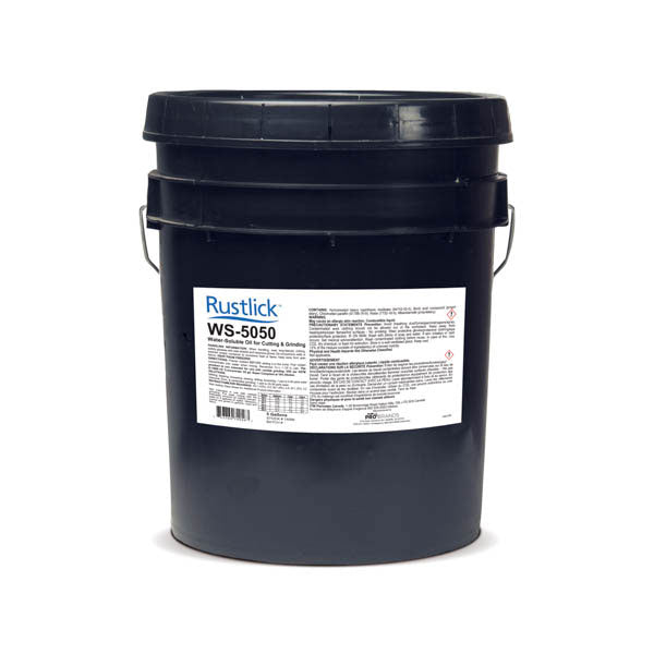 Rustlick™ WS-5050 Cutting and Grinding Fluid - 5 Gallon | 74056
