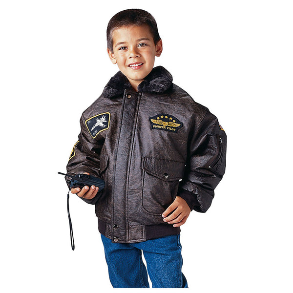Kids WWII Aviator Flight Jacket