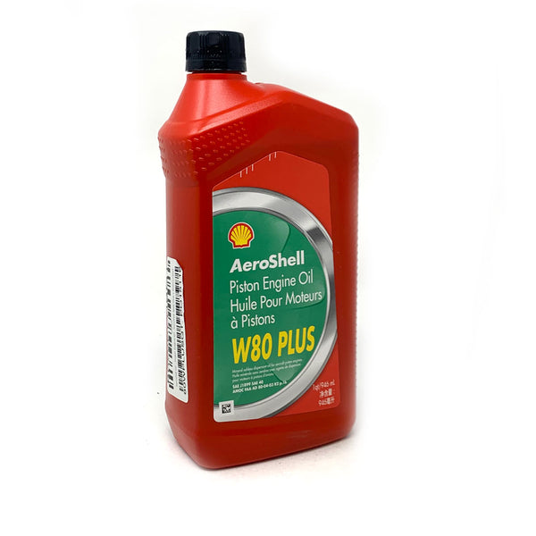 Aeroshell - W80 Plus Piston Engine Oil, With Antiwear