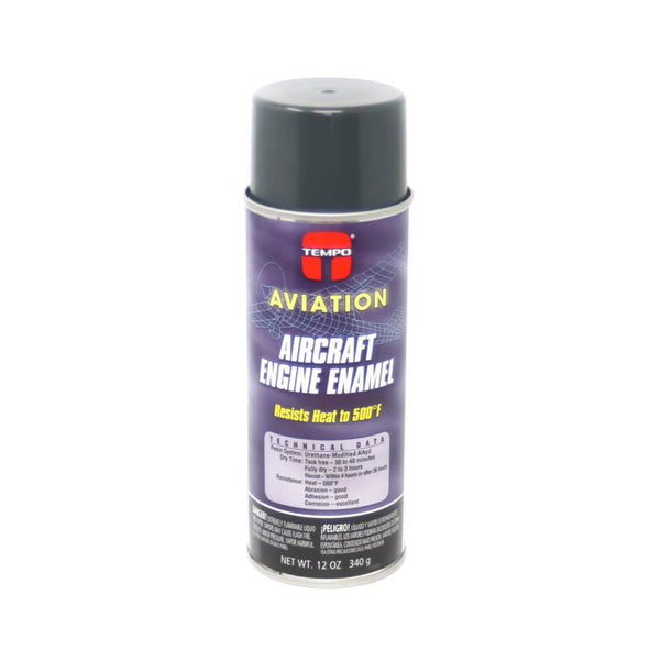 Tempo - Hi-Temp Aircraft Engine Enamel Paint - Lycoming Gray | A219