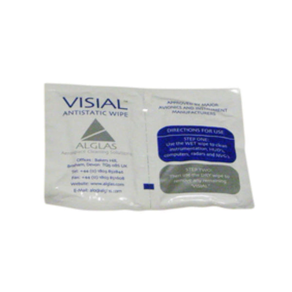 Alglas - Visial Anti-Static Instrument Wipes | ALG/CR215