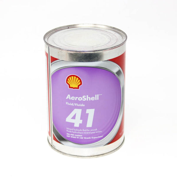 Aeroshell -  Fluid 41 Mineral Hydraulic Oil, Quart