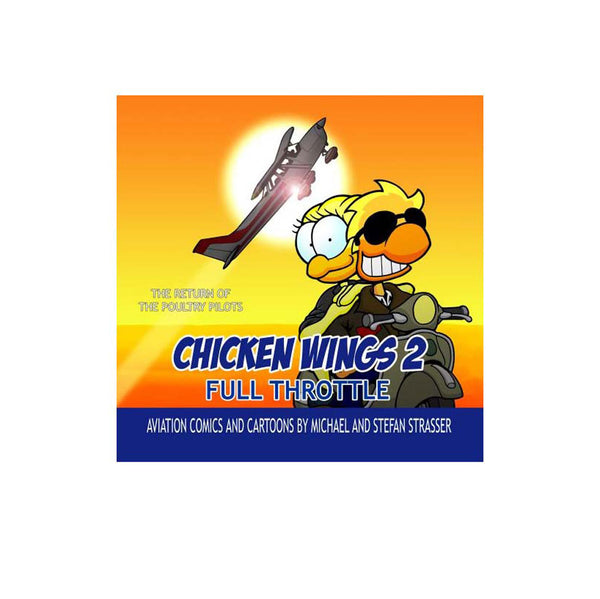 Chicken Wings - Chicken Wings 2, Full Throttle, Comic Book