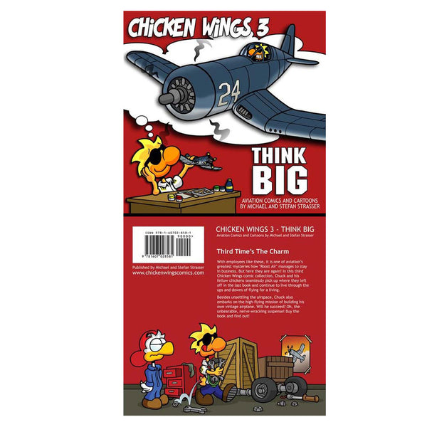 Chicken Wings - Chicken Wings 3, Think Big, Comic Book
